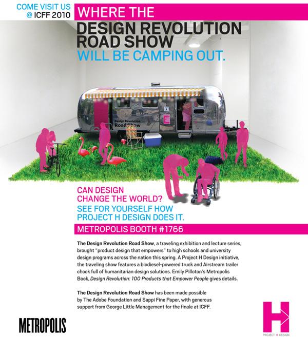 Design Revolution Road Show Metropolis ICFF Finale
