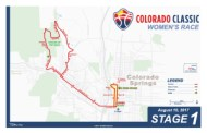 Colorado Classic Stage 1 Women's Map