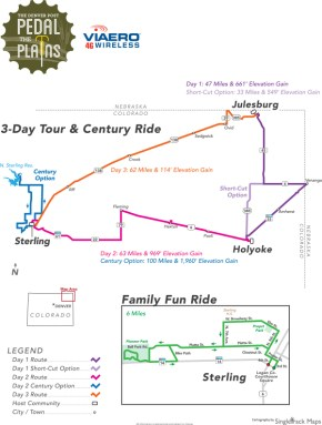 PTP 2015 Route Map