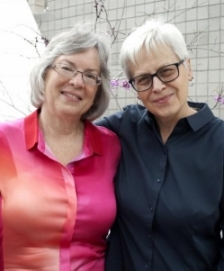 Peggy Shumaker and Eloise Klein Healy