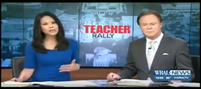 Teachers Rally A Massive Success – And a Complete Disaster for NC Republicans