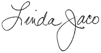 Linda Jaco Signature