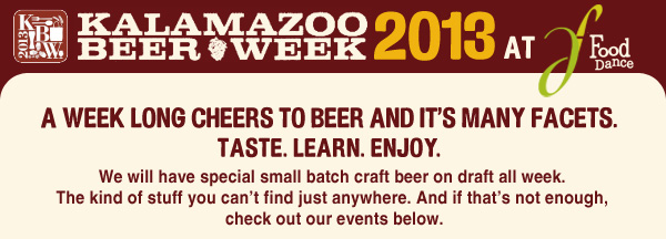 Kalamazoo Beer Week 2013
