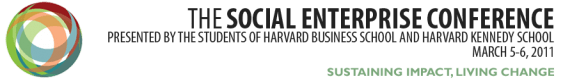 Harvard Social Enterprise Conference
