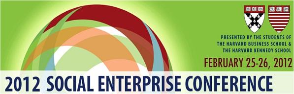 Harvard Social Enterprise Conference