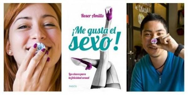 """Paidós y Roser Amills presentan """"¡Me gusta el sexo!"""" en MADRID"""