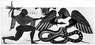 Typhon and Zeus