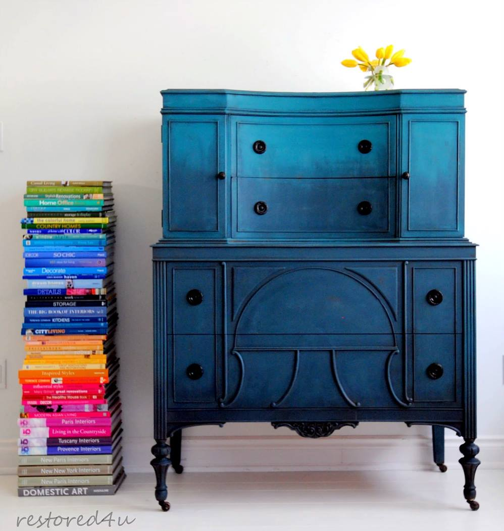 This Show Stopping Cabinet Is A Standout Example Of The Ombré Trend. Painted  By The Totally Fabulous And Inspiring Ildiko Of Restored4u In Ontario,  Canada.