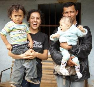 pabel martyr with wife kelly and children