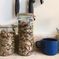 Pantry Clean Out Granola