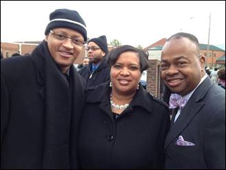 Photo: My My My. I go way back, like the 1980s with these guys. I was glad to see them at Mitch Malone's home going.