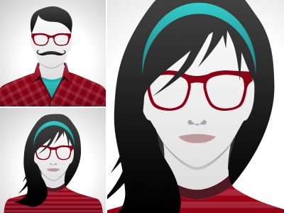 Avatar designed by: http://dribbble.com/designovich