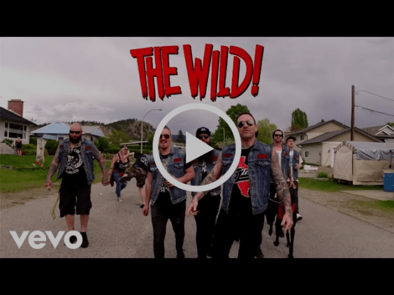 """THE WILD! DEBUT """"LIVIN' FREE"""" MUSIC VIDEO EXCLUSIVELY VIA"""