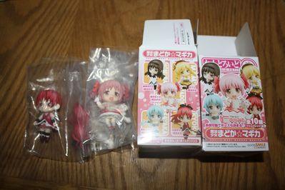 Madoka Magica - Nendoroid Petit Figures - Madoka and Kyouko