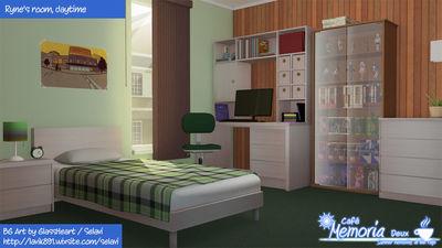 Ryne's room, day