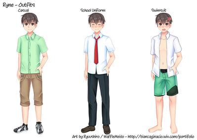 Ryne's outfits