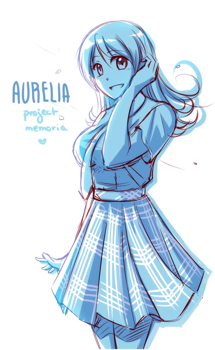 Aurelia drawn by Deji