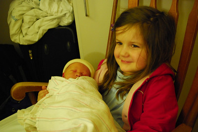 Catherine and baby Ericsson