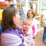 Rebecca, Esme and Sarah