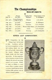 "Before Barney went to England to compete a Grand Farewell Concert was held in 1905 in Sydney. Page 2 ""The Championships Kieran will compete for"". Digital copy donated by Hazel Bromby, President Cape Banks Family History Society."