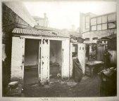 Rear of butchers yard and WC, toilet facilities, c.Jul 1900. Digital ID 12487_a021_a021000044