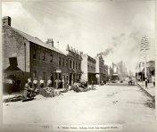 Sussex Street, looking south from Margaret Street, Sydney, c.Jul 1900. Digital ID 12487_a021_a021000035