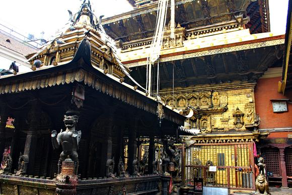 Golden temple in Patan