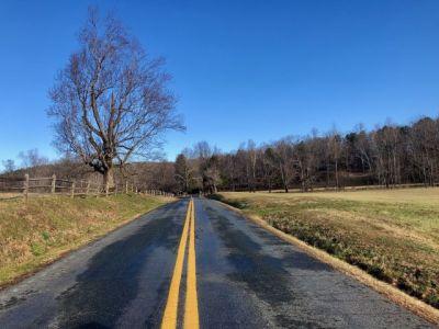 Fun roads in Southern Albemarle