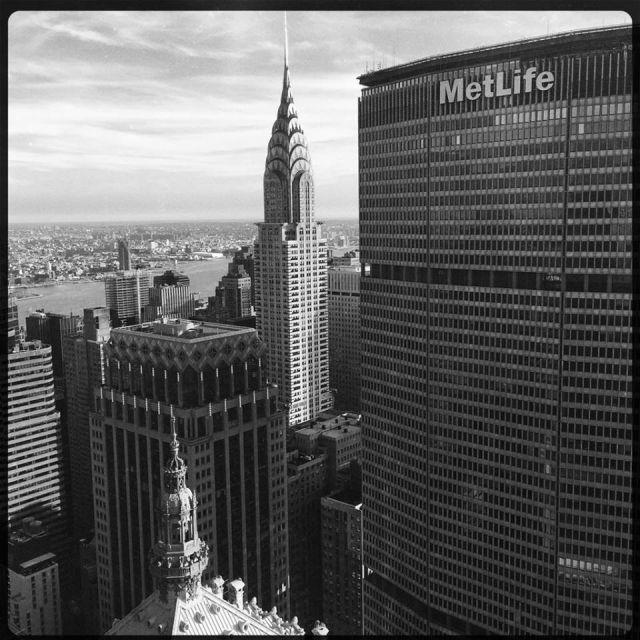 Chrysler Building and MetLife Building