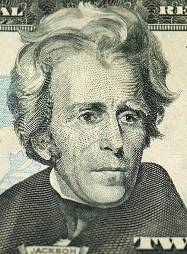 Andrew Jackson, U.S. $20 bill