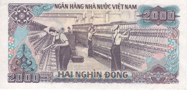 Vietnam 2,000-dong note