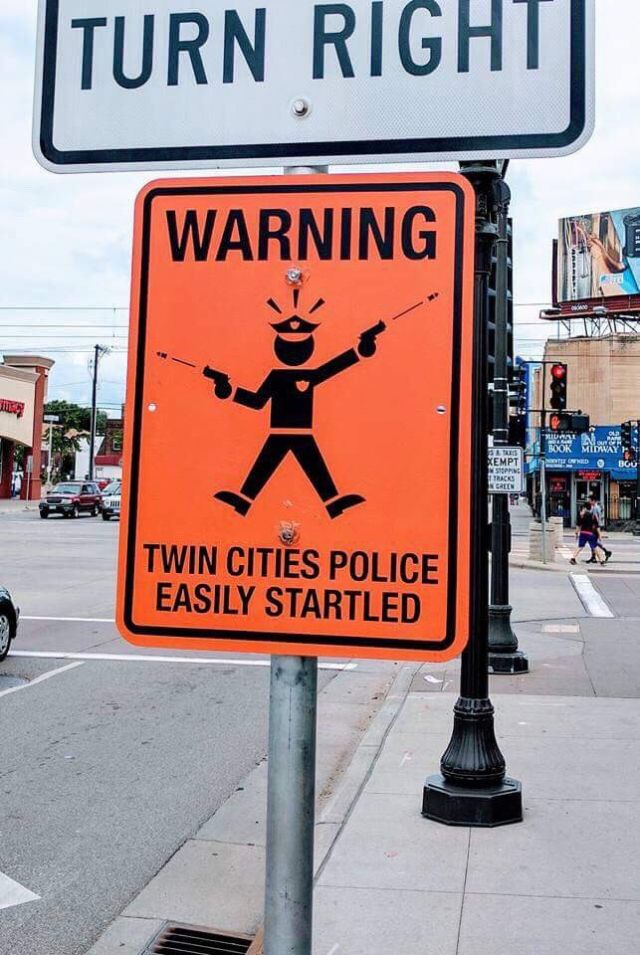Warning: Twin Cities Police Easily Startled