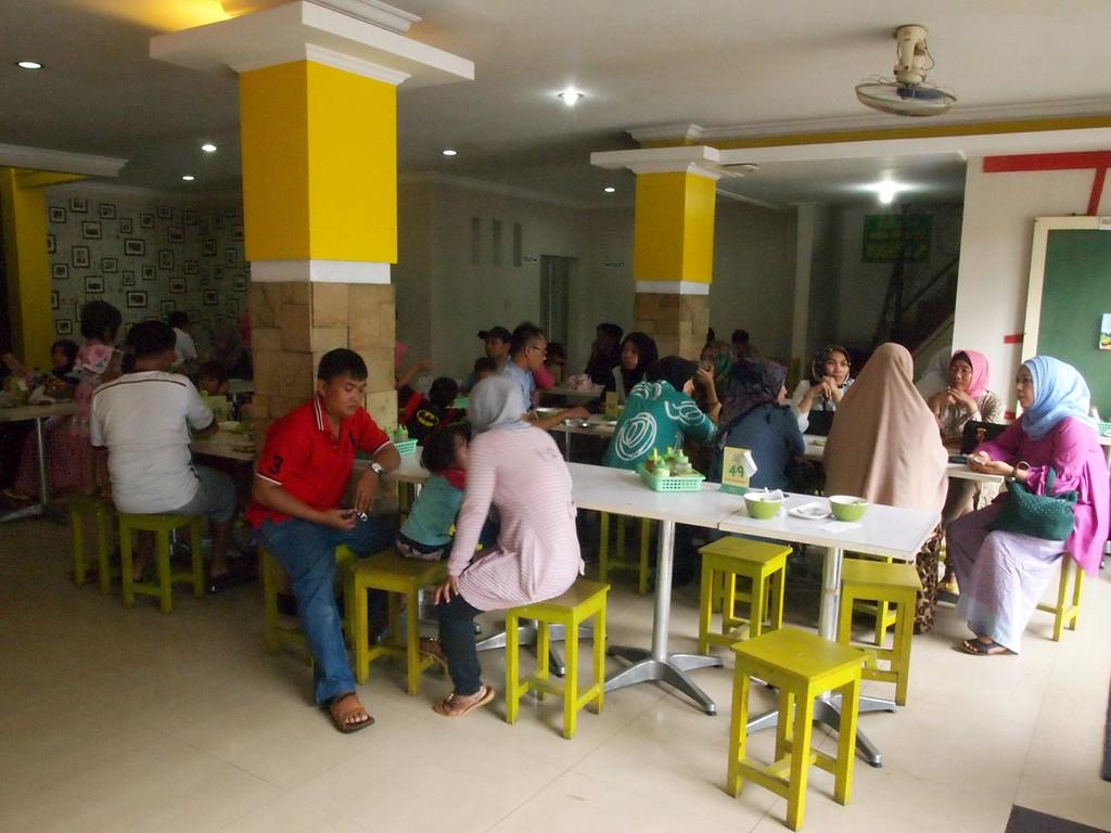 Inside Kedai Sop Duren