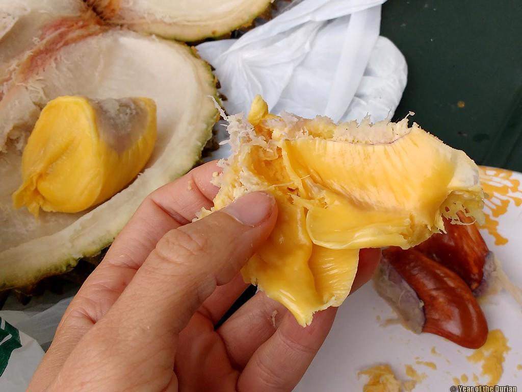 Frozen Musang King retains its texture