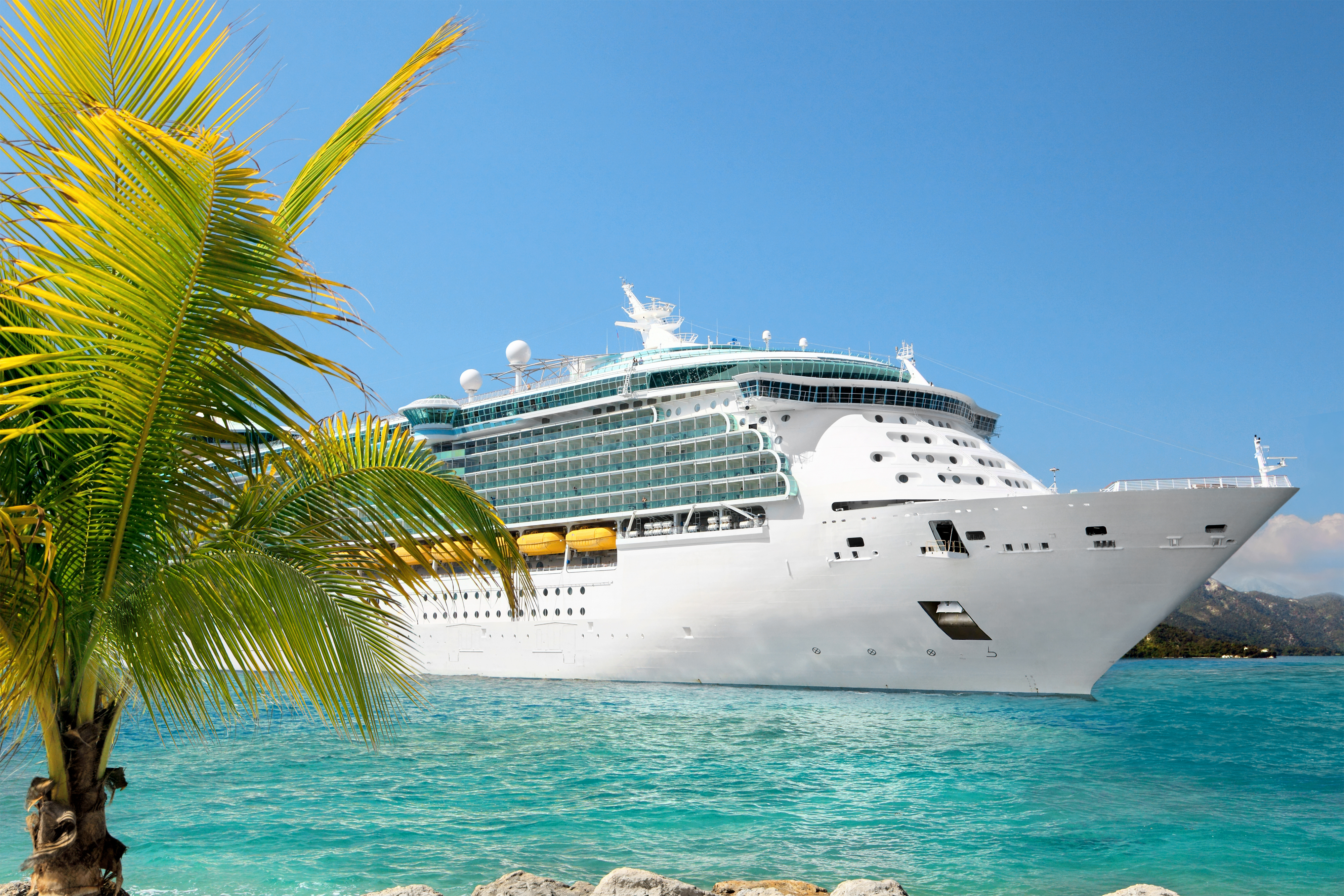 Summer Cruise Ship Background - High-quality And Transparent