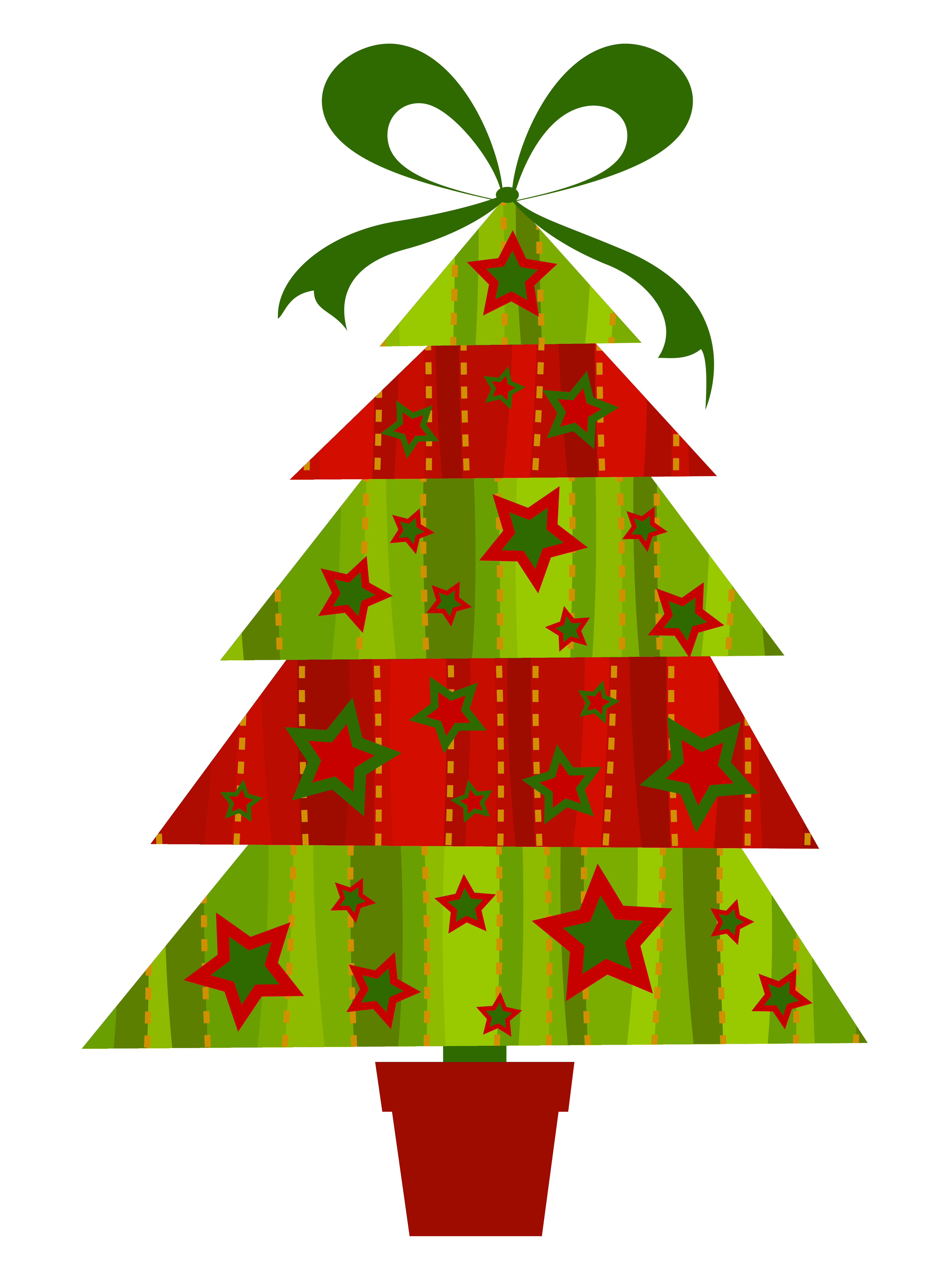 hight resolution of modern christmas tree transparent png clipart