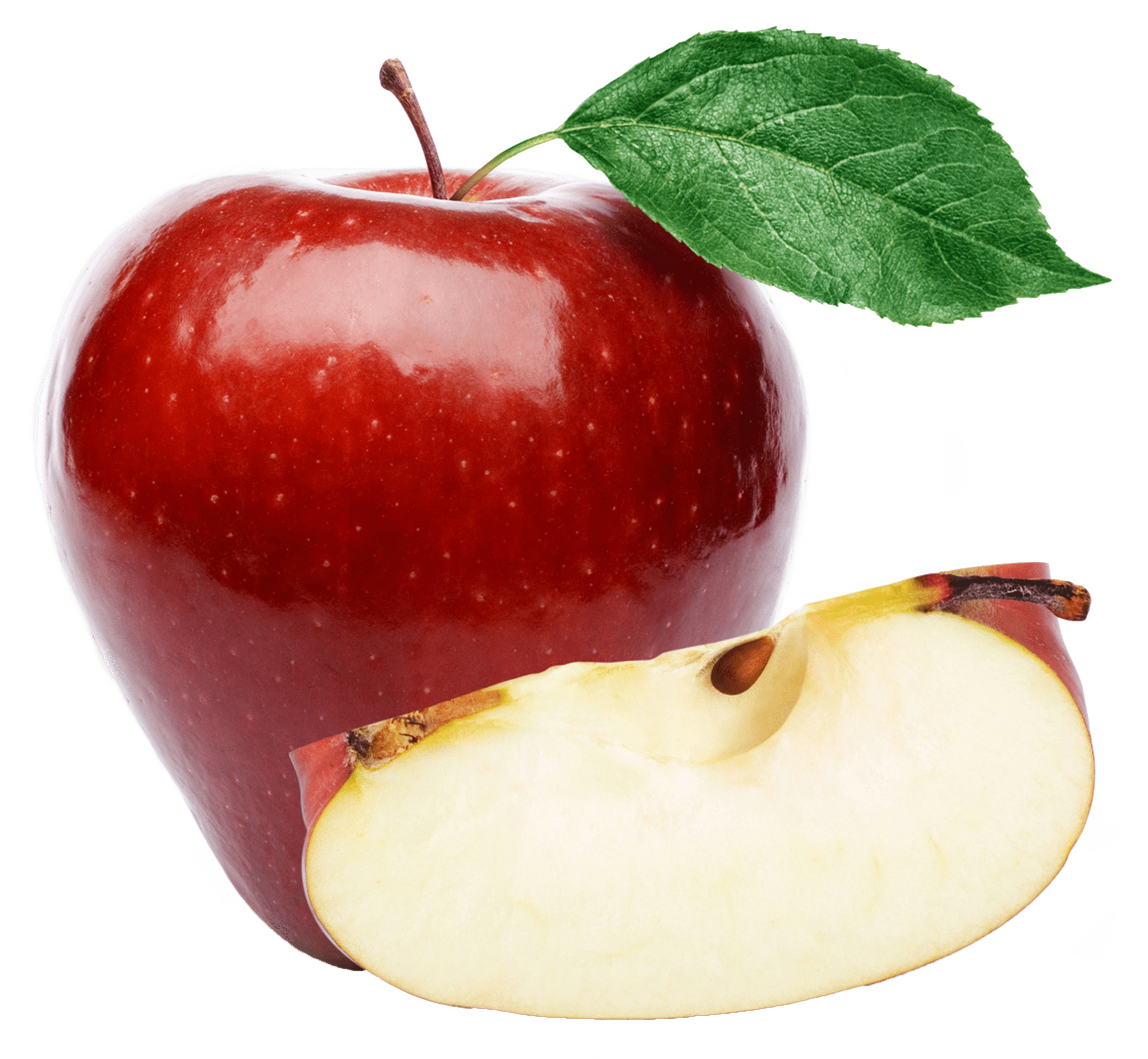 hight resolution of large red apple png clipart