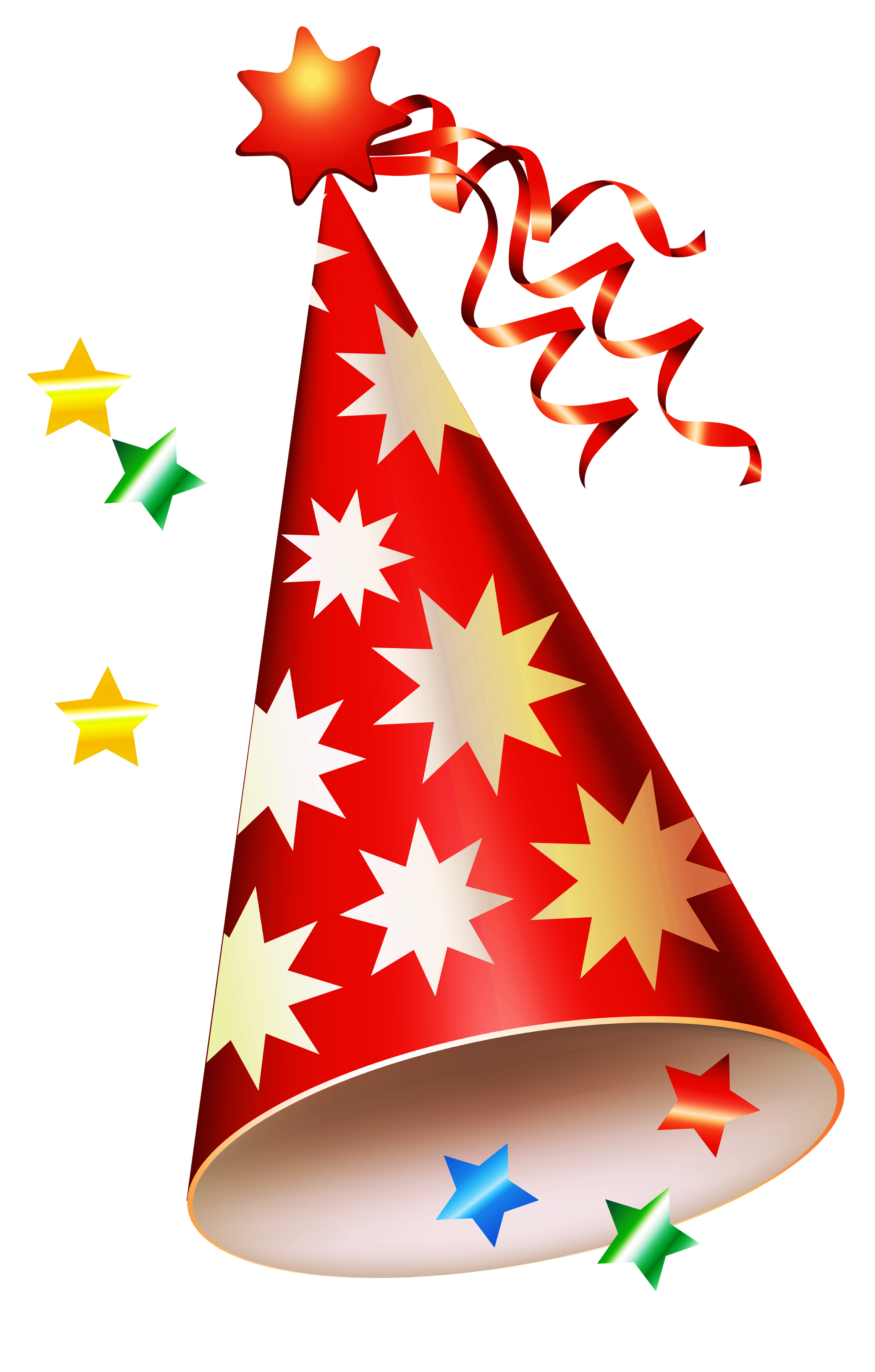 medium resolution of red party hat transparent png clipart