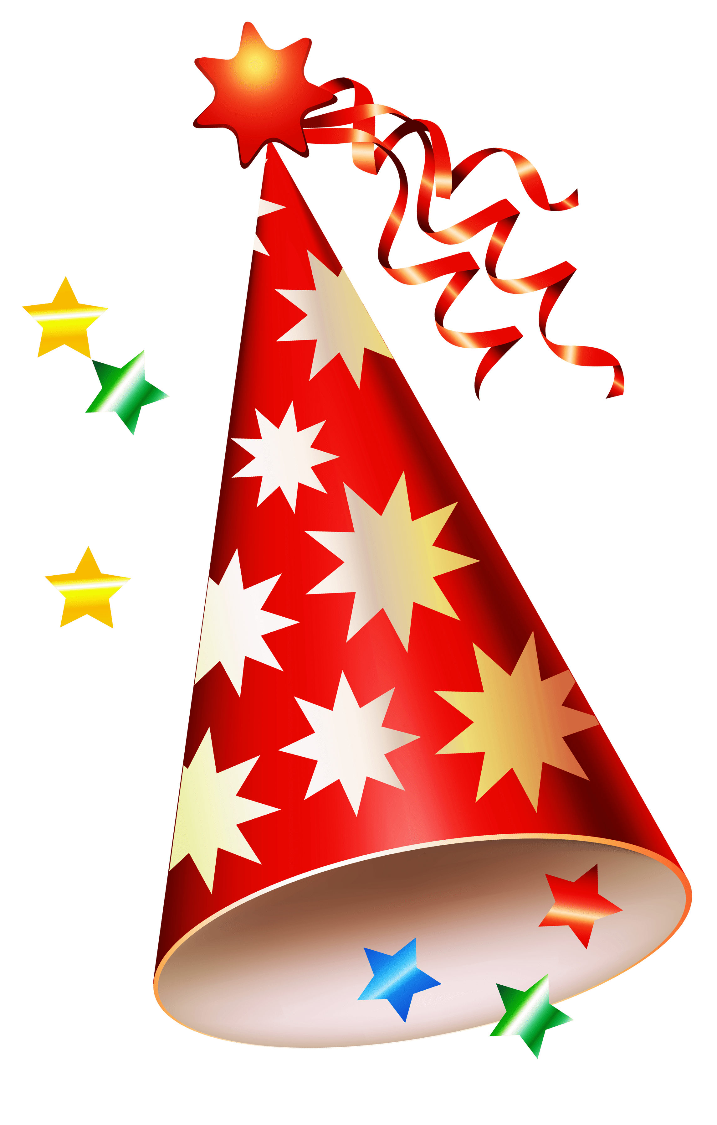 small resolution of red party hat transparent png clipart