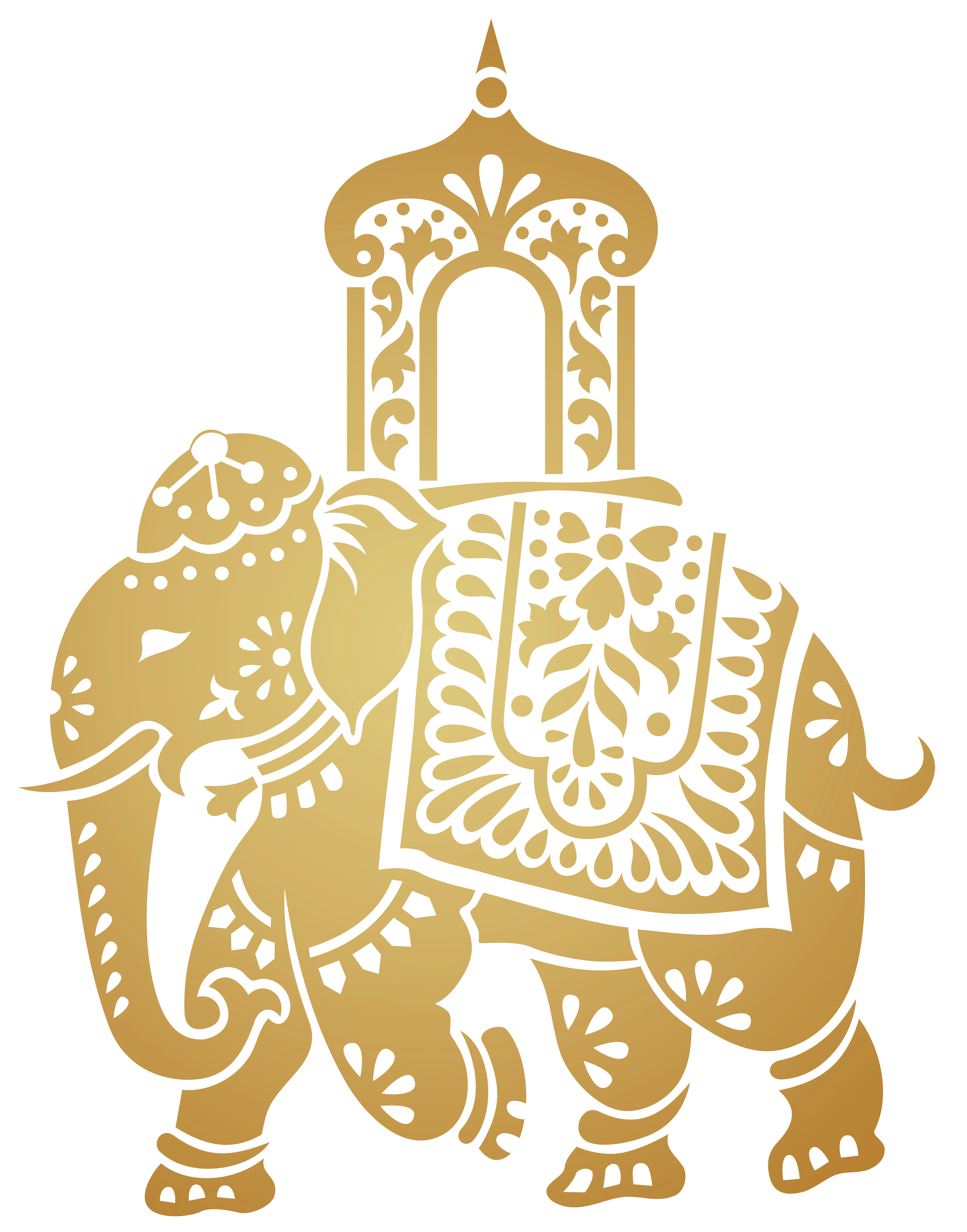 Indian Elephant Clip Art at Clker.com - vector clip art