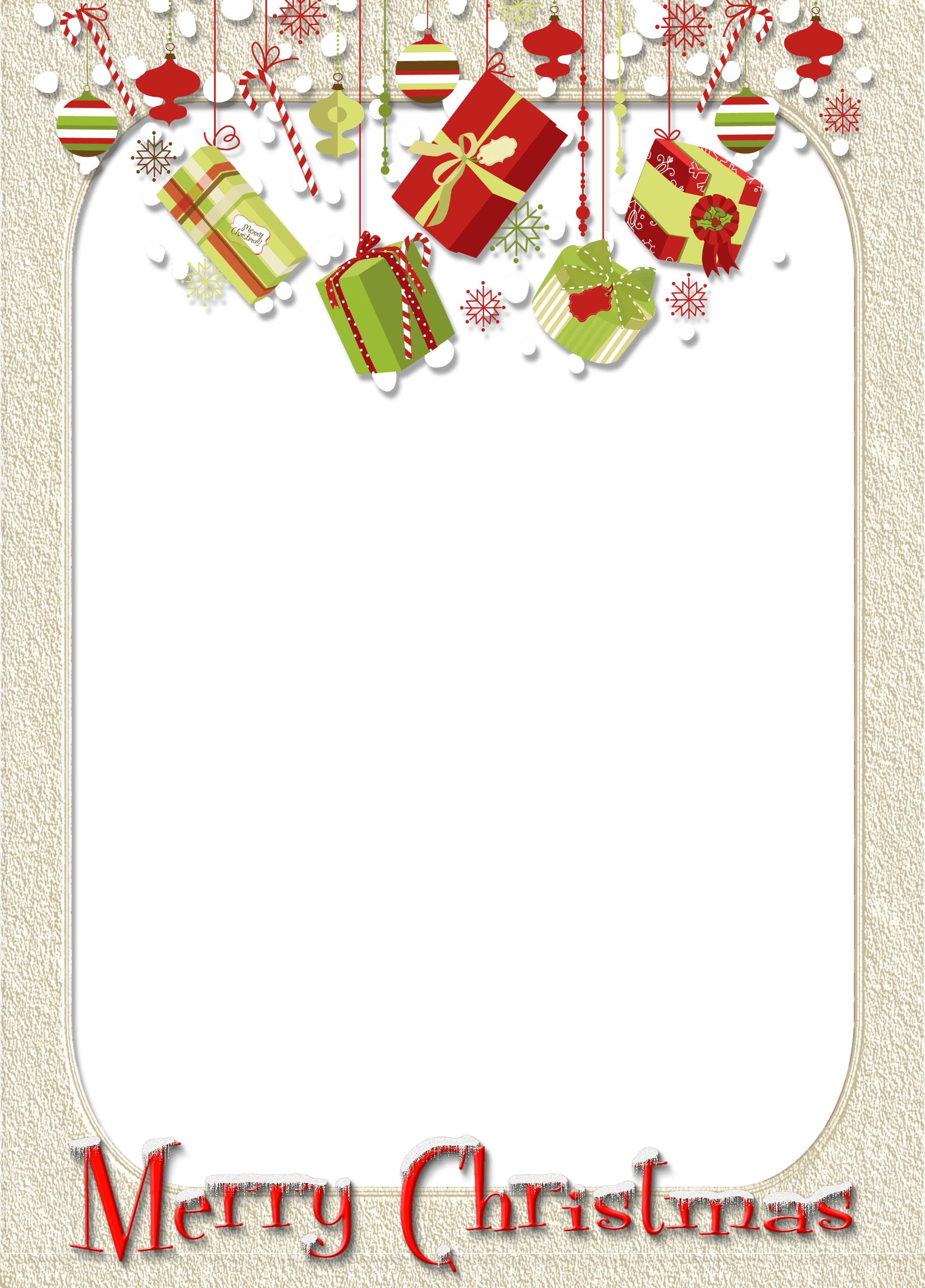 Merry Christmas Frames And Borders Png | Galleryimage.co