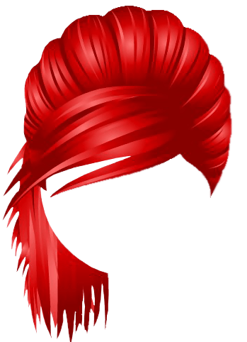 nyc party pulled hair red
