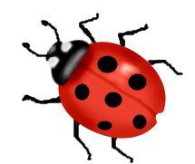 cartoon ladybug clipart