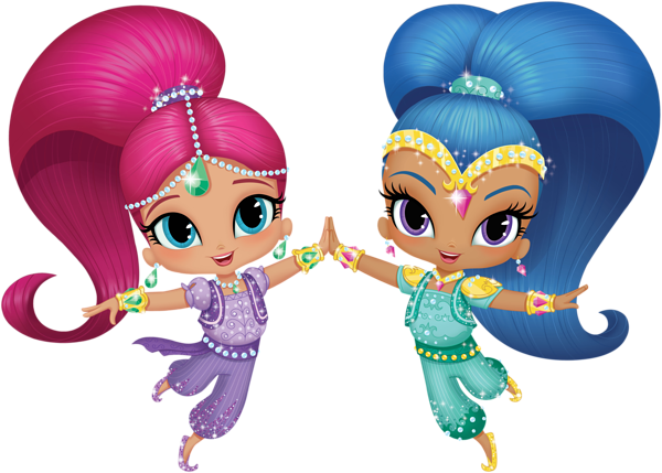 Shimmer And Shine Transparent Png Clip Art Image Gallery
