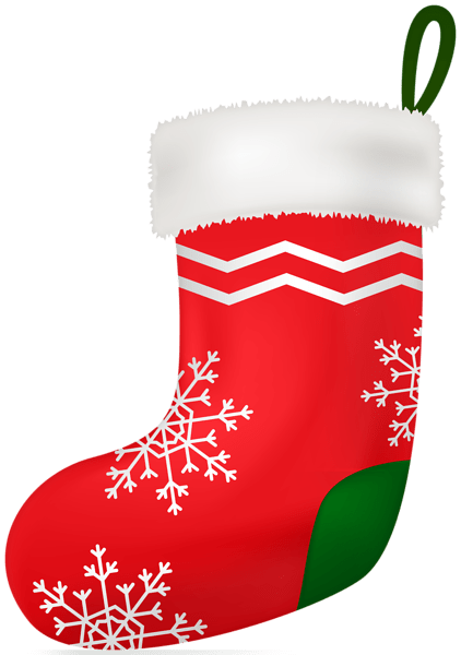Christmas Red Stocking Clip Art Image  Gallery
