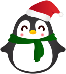 penguin christmas clipart cute yopriceville clipground
