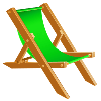 Transparent Beach Chair PNG Clipart | Gallery Yopriceville ...