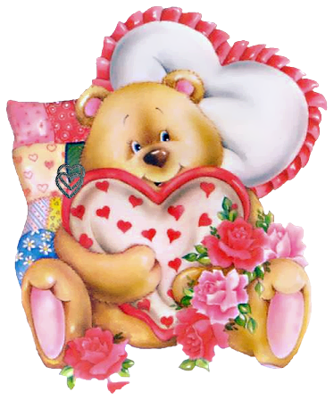 Anime Wallpaper Girl In Taddys Valentine Teddy Bear Png Clipart Picture Gallery