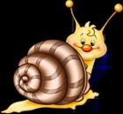 cartoon brown snail yopriceville clipart transparent