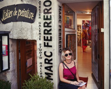 "#10 ""Marc Ferrero Art GAllery"""